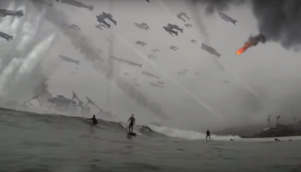 地球滅亡 サーフィン