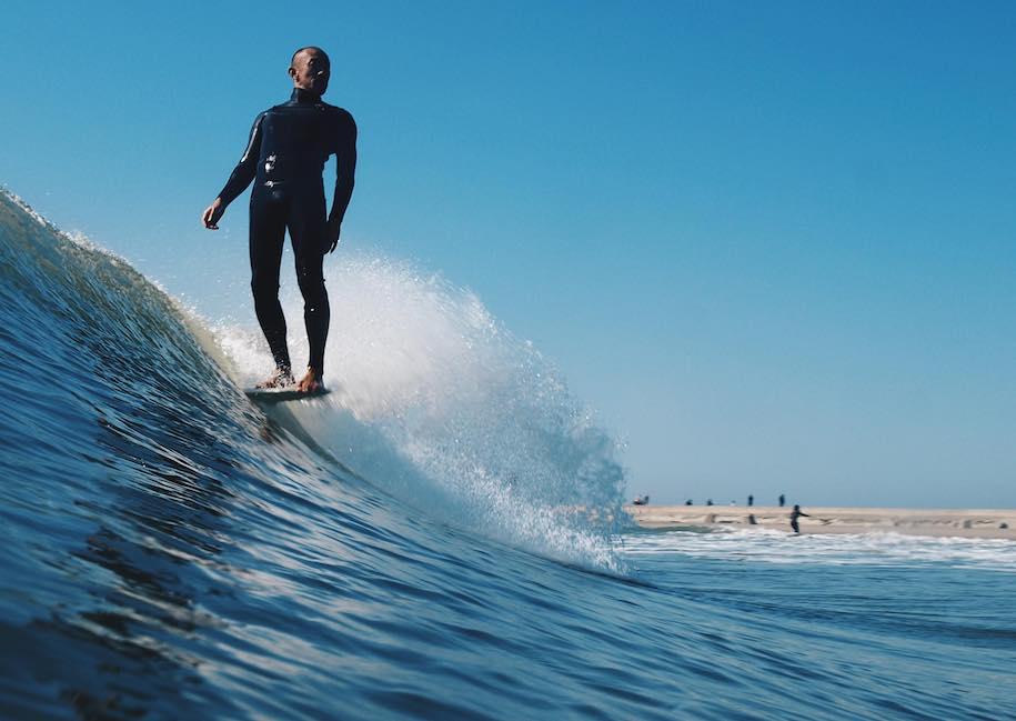 ヨーロッパサーフィン誌ノルディクサーフマガジンWEB版に写真家笹尾和義の作品が紹介される