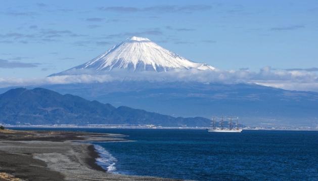 海 富士山