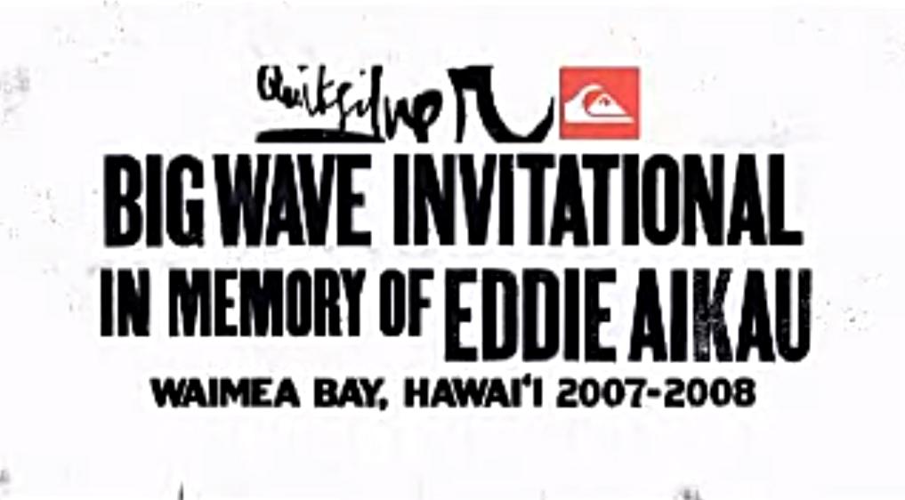 Quiksilver In Memory Of Eddie Aikau