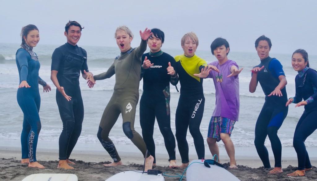 ロックバンド『KEYTALK』とプロサーファーの対談 & サーフィン体験会
