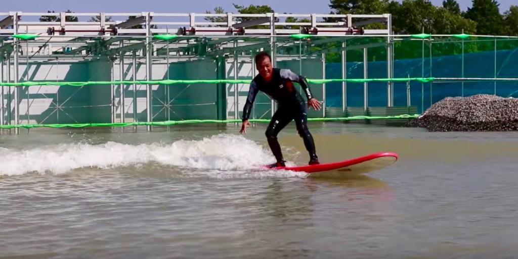 はじめてのサーフィン