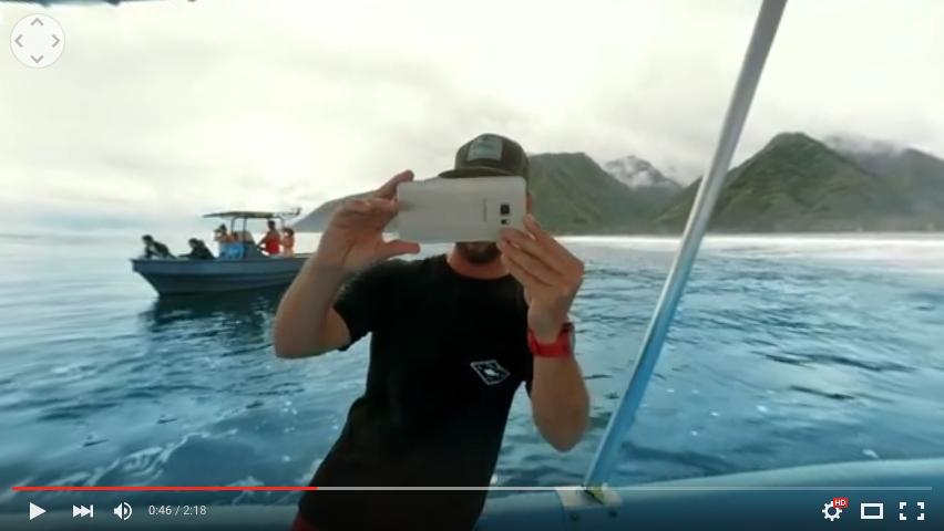 VR写真を撮るCJ