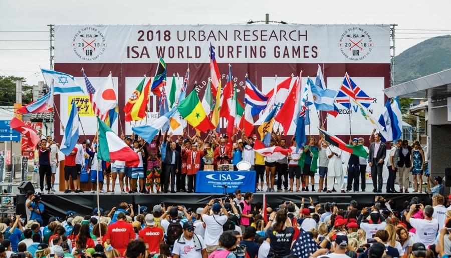 ISA ワールドサーフィンゲームス