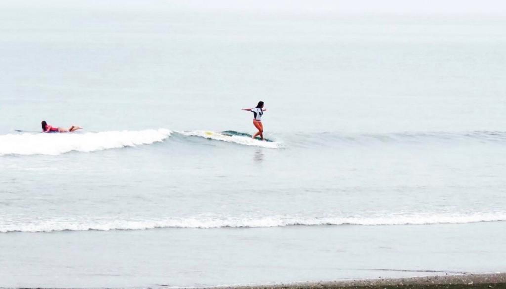 サーフィン 水分