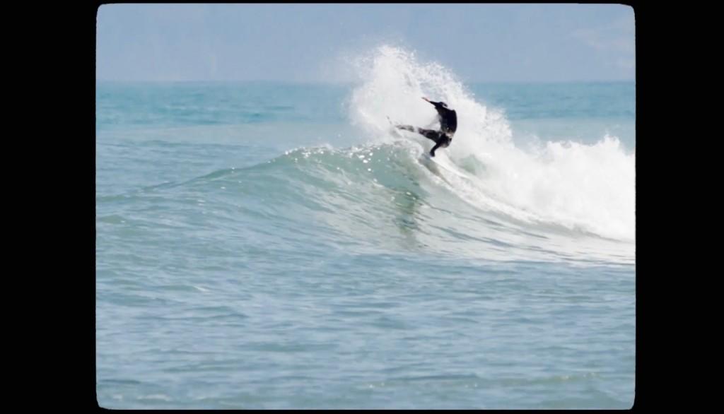 ニュージーランドサーフィン