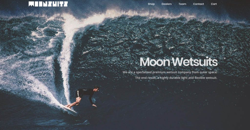 MOON WETSUITS