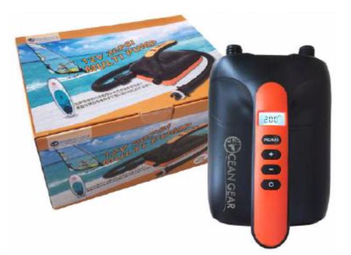 『OCEAN GEAR』からインフレータブルSUP用 電動エアーポンプがリニューアル