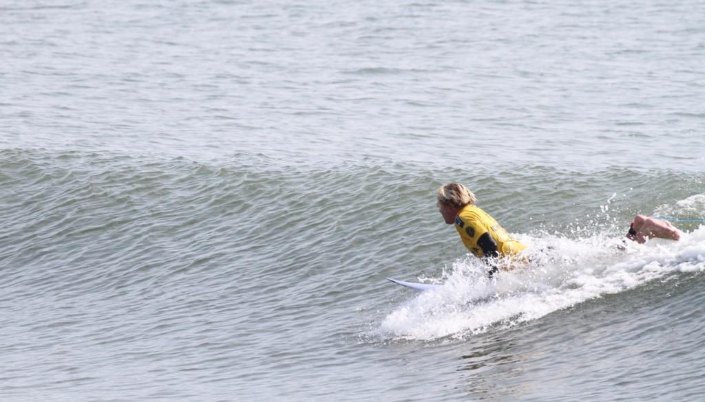 サーフィンテイクオフ方法2