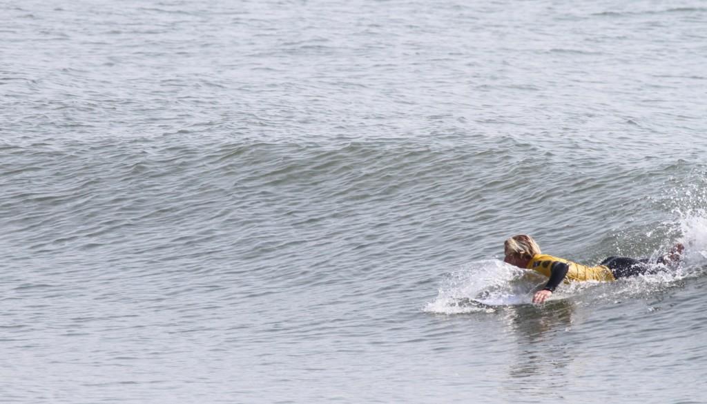 サーフィンパドルからテイクオフ3