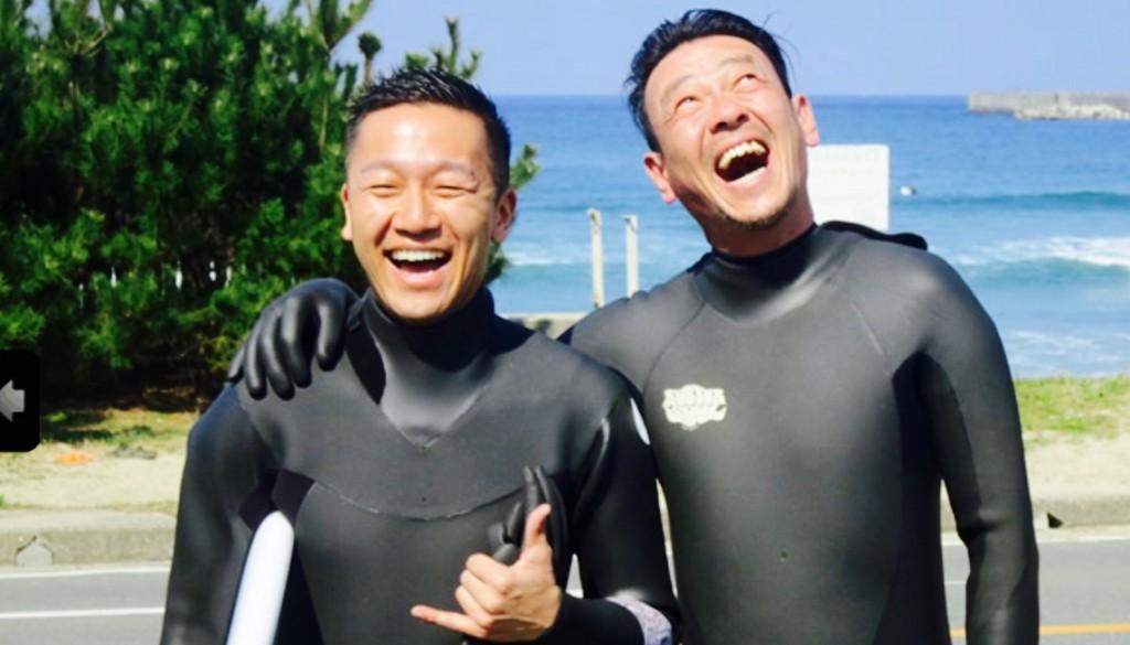 マイクロ清水圭サーフィン.2