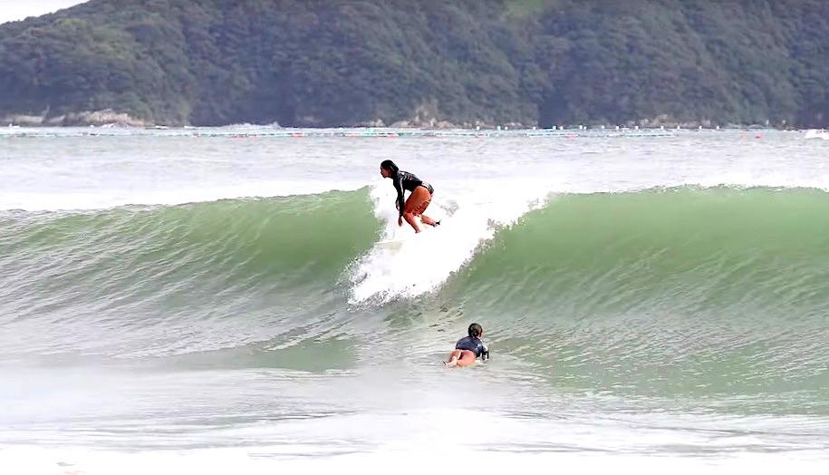 須田那月フリーサーフィン映像
