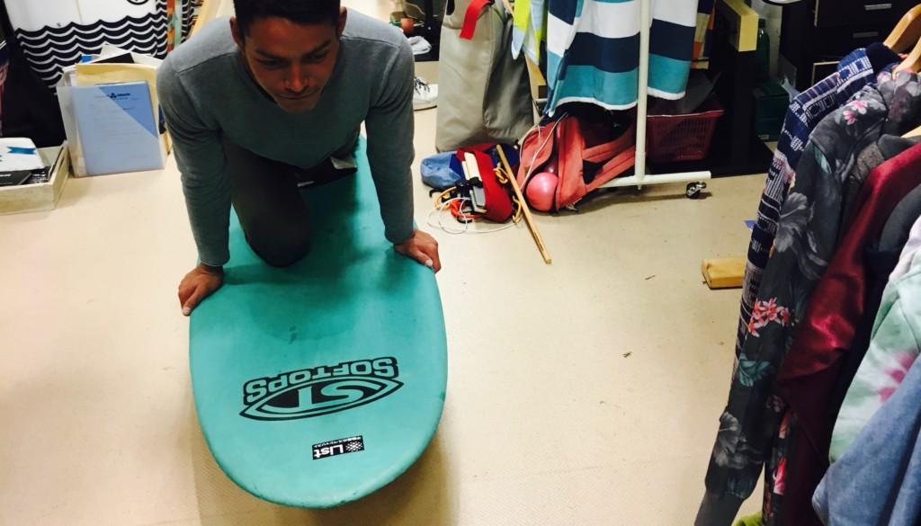 サーフィン スノボのセッティング