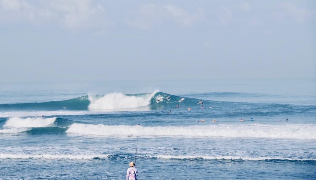 バリ島 チャングー サーフィン
