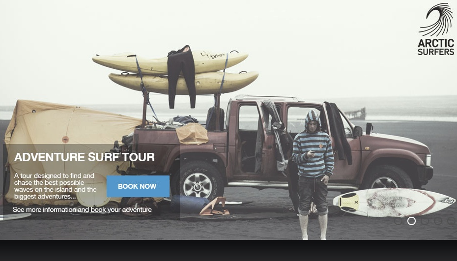 アイスランド サーフィン