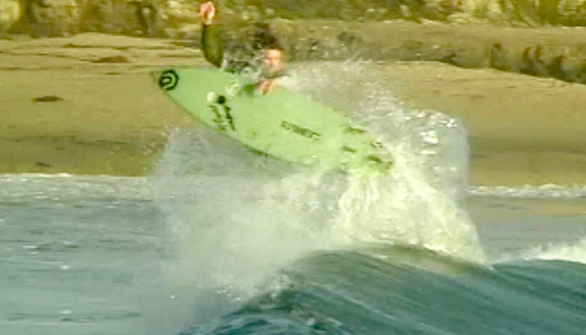 ドライブスルー カリフォルニア サーフィン
