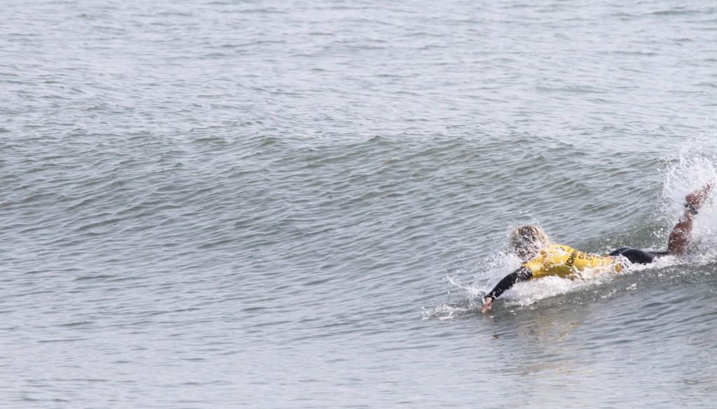 サーフィンパドルからテイクオフ4