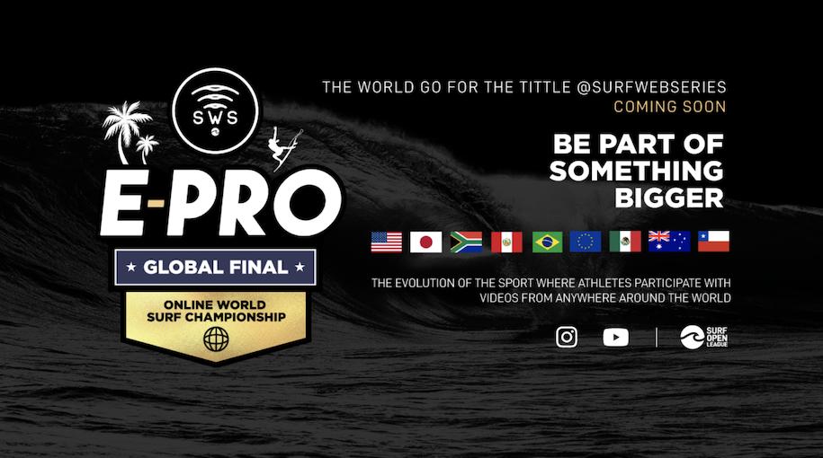 サーフィンオンラインコンテスト『Surf Web Series』グローバルファイナルが開催!