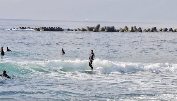 浜瀬海 サーフィン