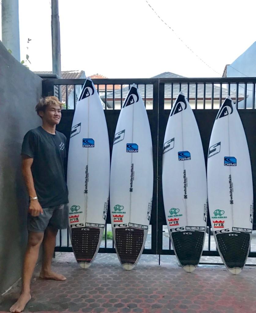 サーフィン スポンサー