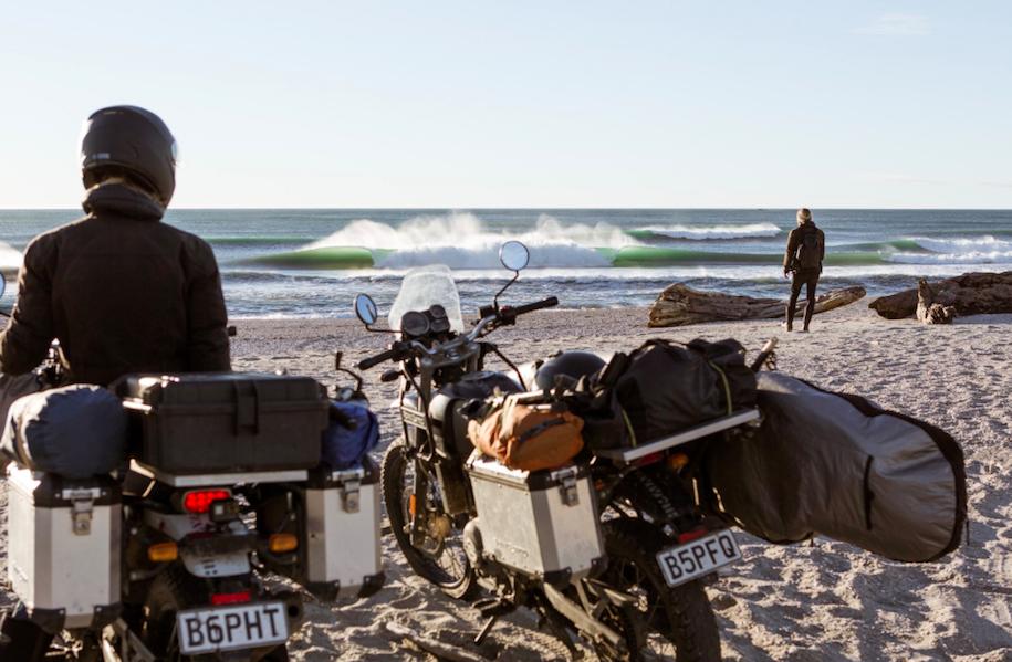 トレン・マーティンのバイクサーフトリップ!4ヶ月に渡る冬のニュージーランド