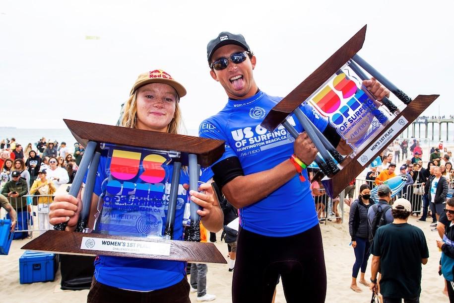 五十嵐カノアは3位!グリフィン・コラピントとケイトリン・シマーズが初優勝!USオープンハイライト映像