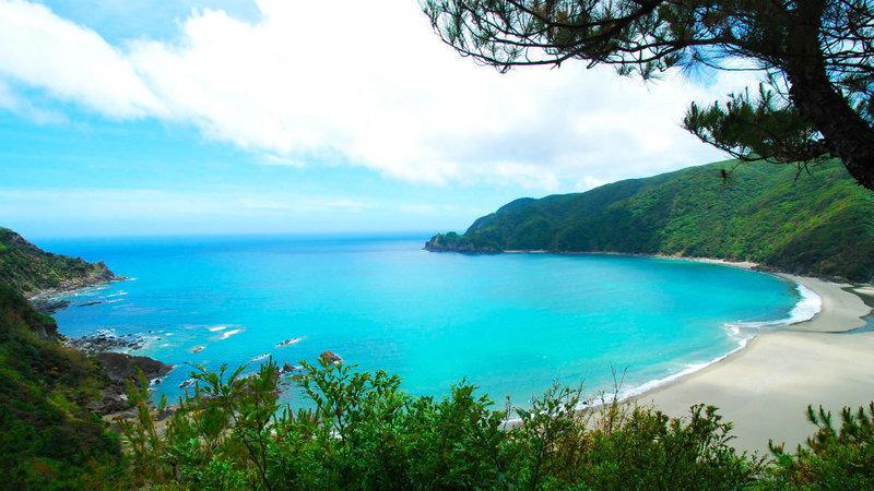 サーフィン 奄美大島の嘉徳海岸