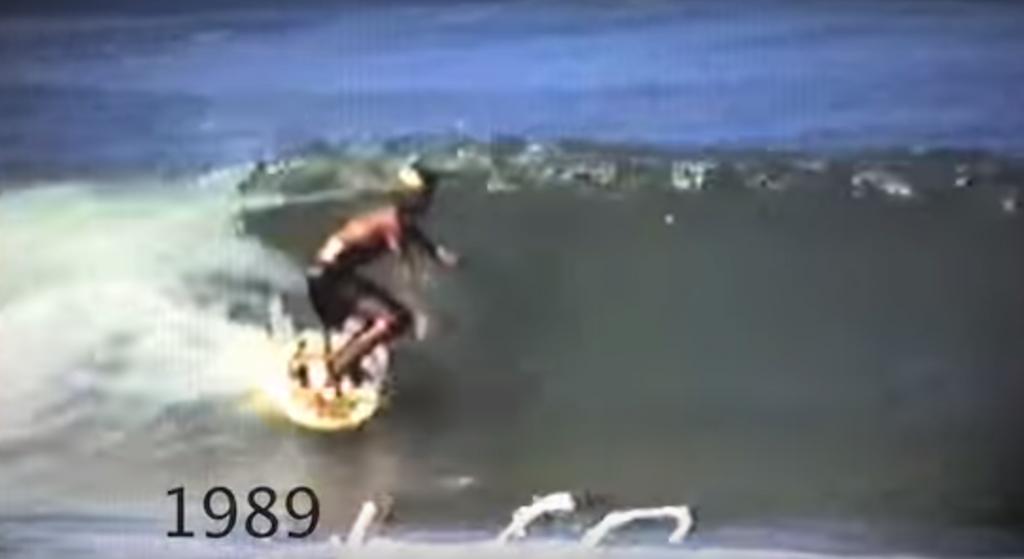 ジョエル・チューダー サーフィン
