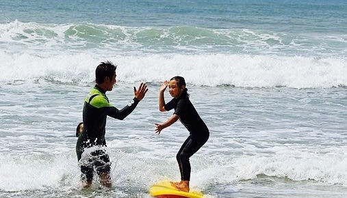 サーフィンのコーチング2