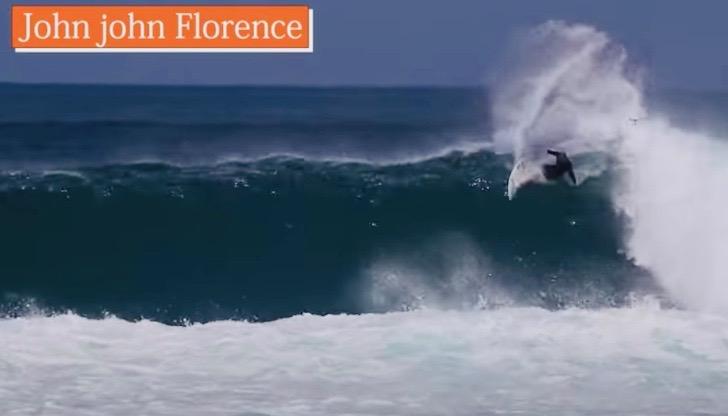 12ft巨大波サーフィン映像!ジョンジョン・フローレンスの異次元サーフィンに脱帽