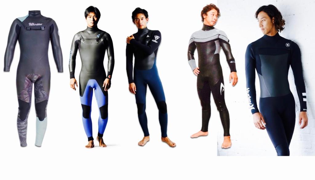 サーフィン ウェットスーツ