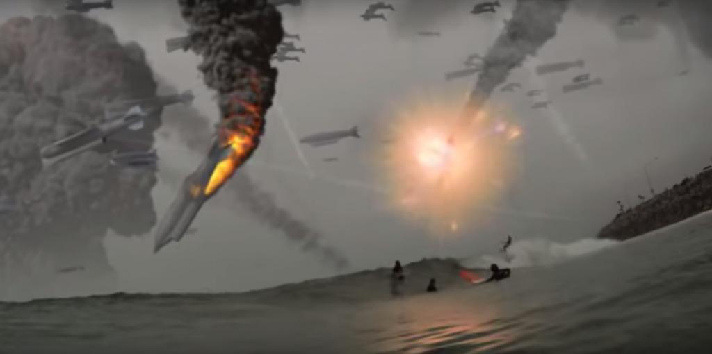 地球滅亡 サーフィン3
