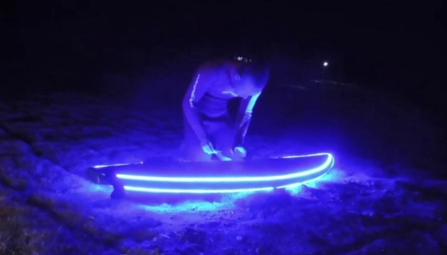 ナイトサーフィン施設が種子島にオープン