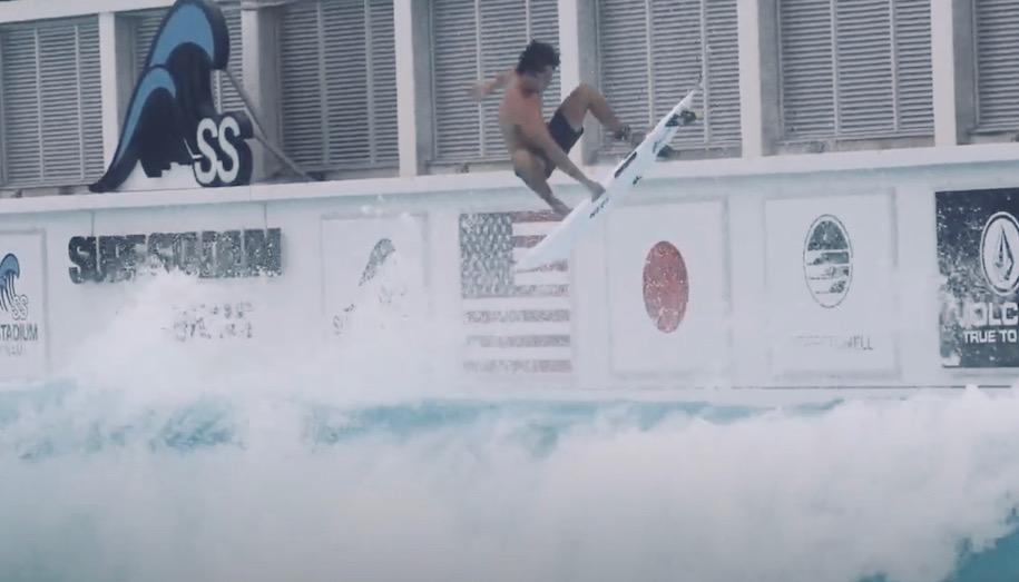 エヴァン・ガイゼルマンによる静波サーフスタジアムサーフィン映像と感想