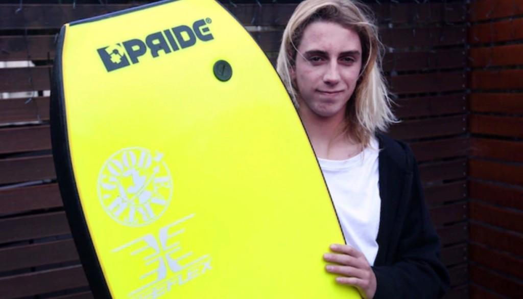 body boarder Noah Symmans