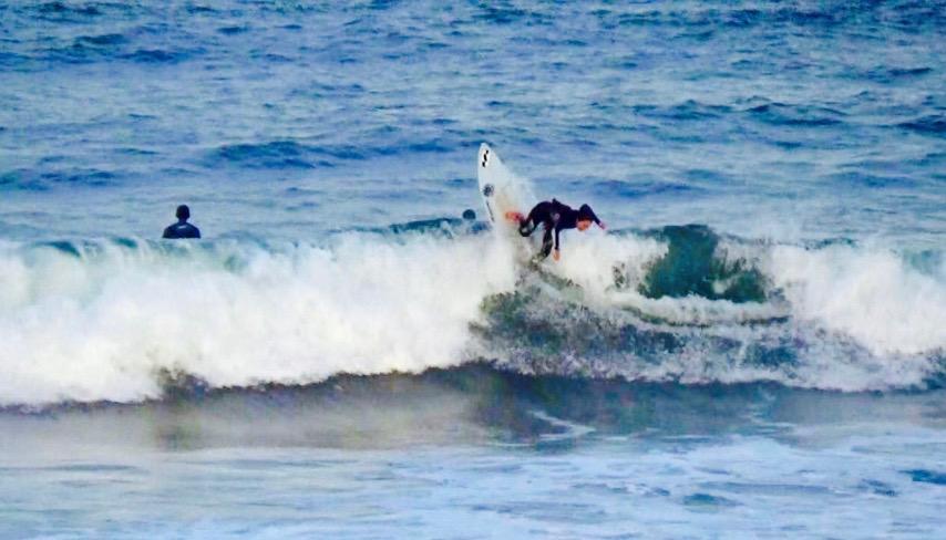 水野 亜彩子 サーフィン