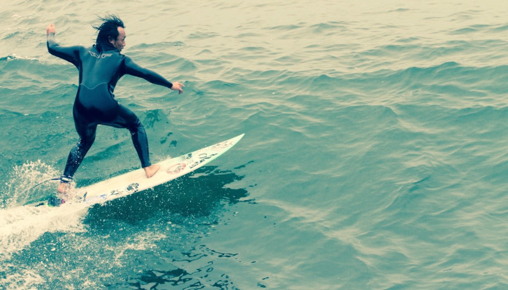 サーフィン カットバック
