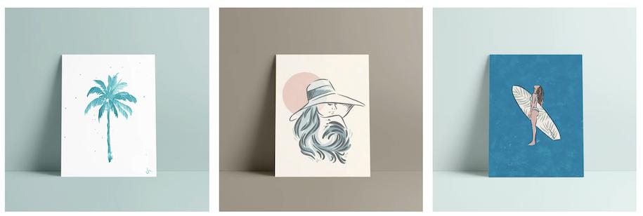 サーフブランドのビキニデザインからアートを手掛けるジェシカ・ミユキのライフストーリー