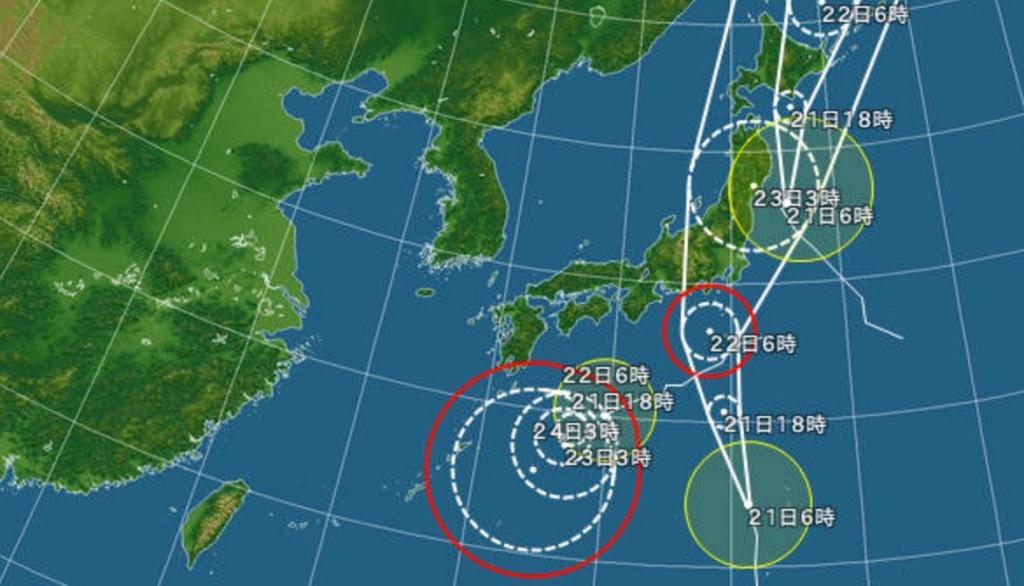 台風  サーフィン