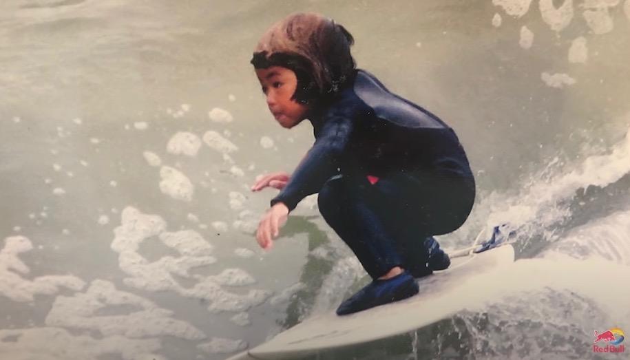 五十嵐カノア サーフィン 子供の頃