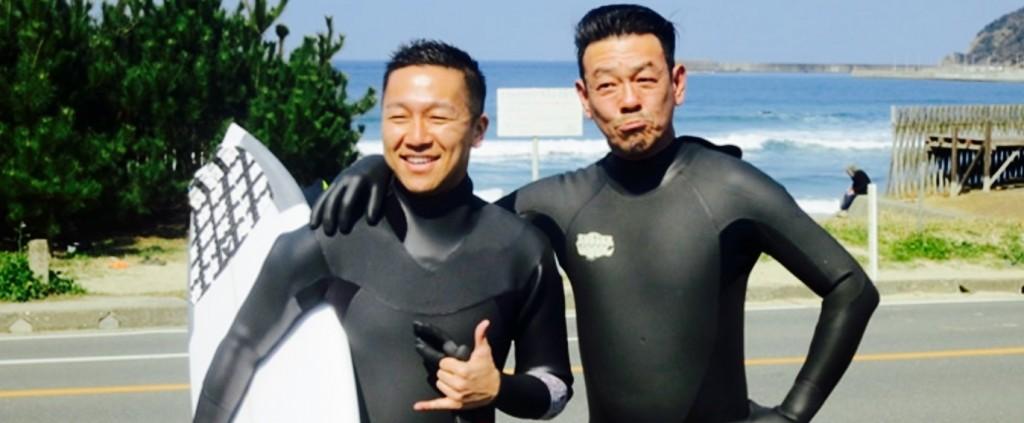 マイクロ清水圭サーフィン