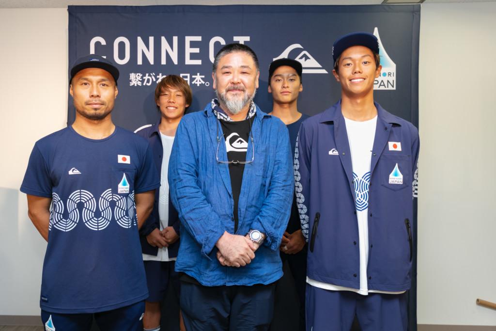 乗りジャパンオフィシャルウェアに QUISILVER×TOKOLOコラボモデルが登場! ~2020年より野老朝雄氏のアートワークが施されたコラボモデルが登場~