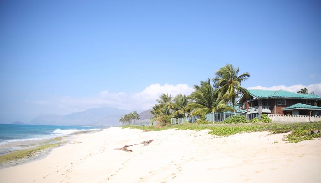ハワイ 小錦の家
