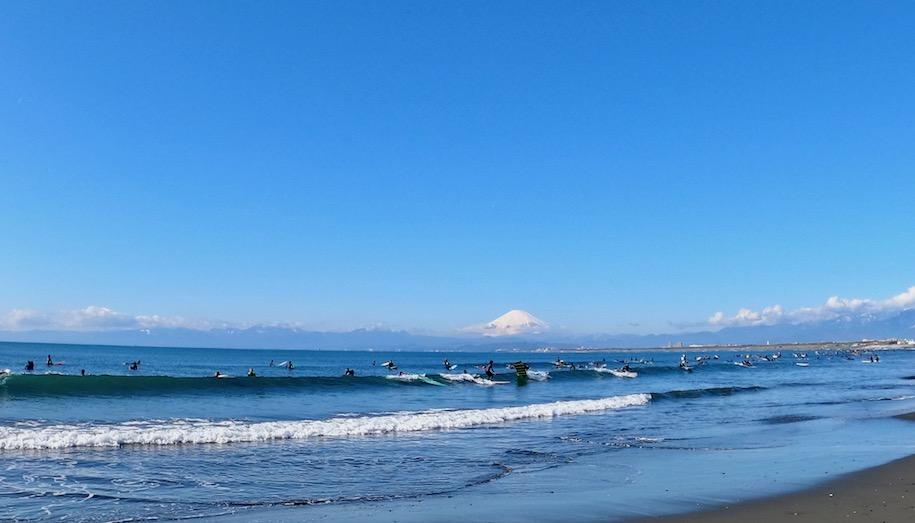 サーフィン 自粛