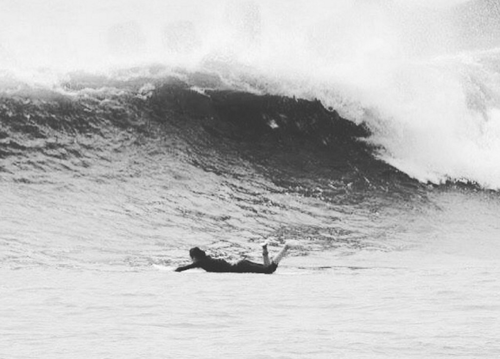 サーフィン パドリング