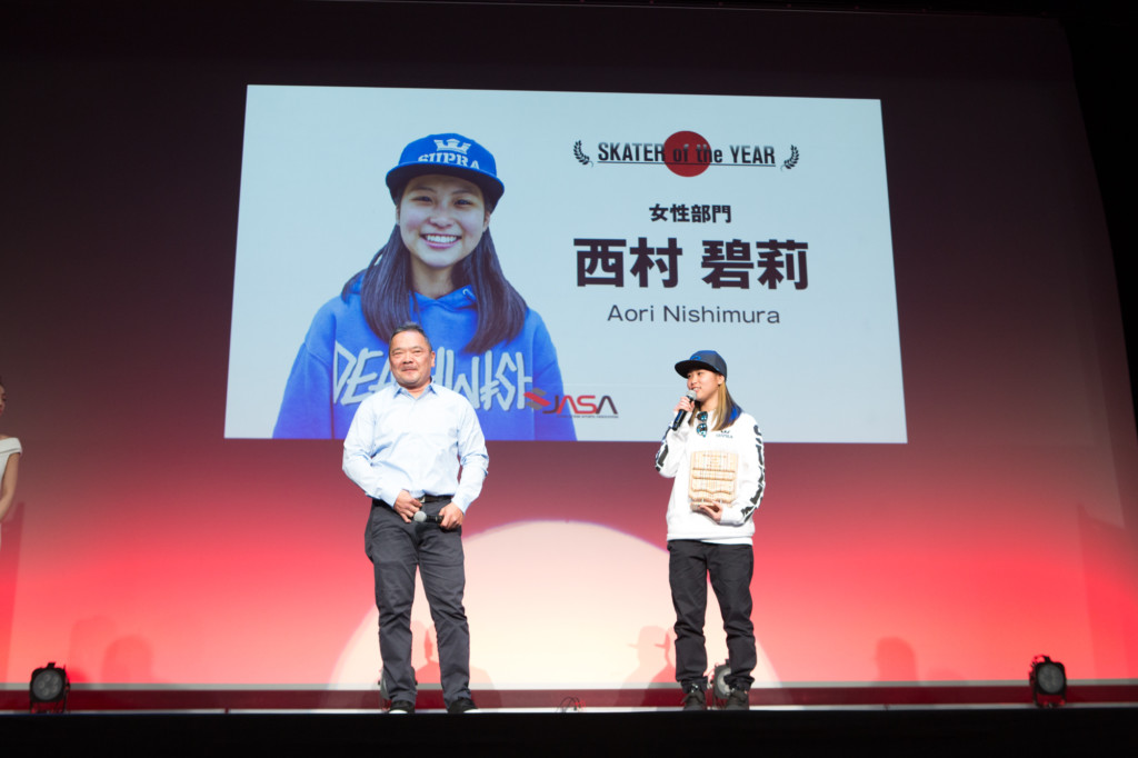 JAPAN ACTION SPORTS AWARDS サーフィン