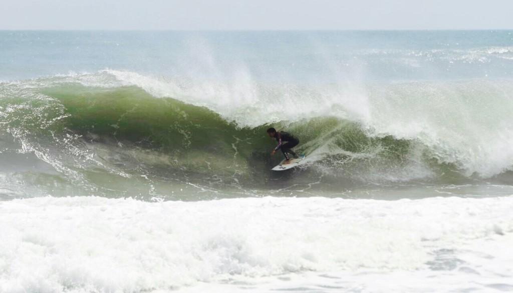 夏目崇 サーフィンのコーチング2