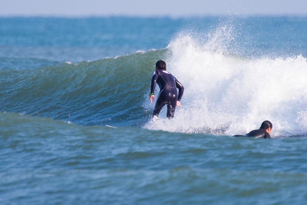 サーフィン冬