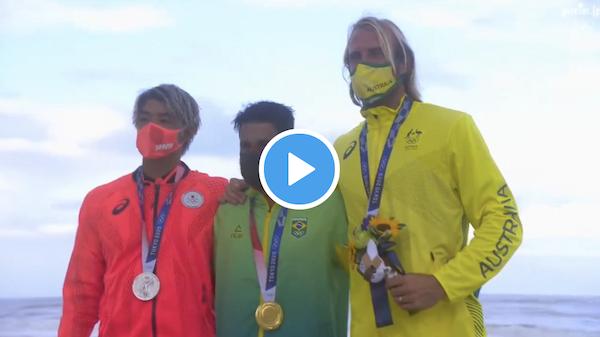 五十嵐カノアが銀、都筑有夢路が銅メダルを獲得!東京五輪2020サーフィン最終日