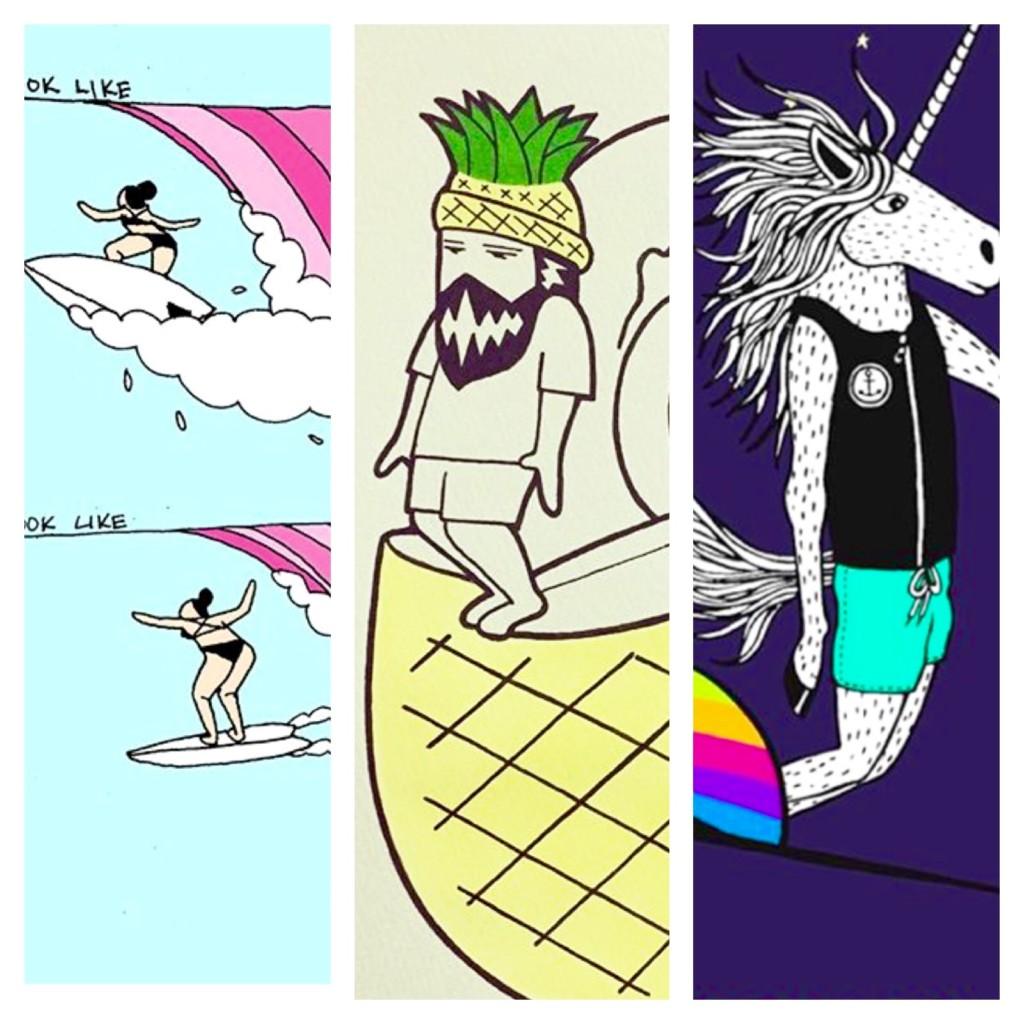 サーフィンアーティスト